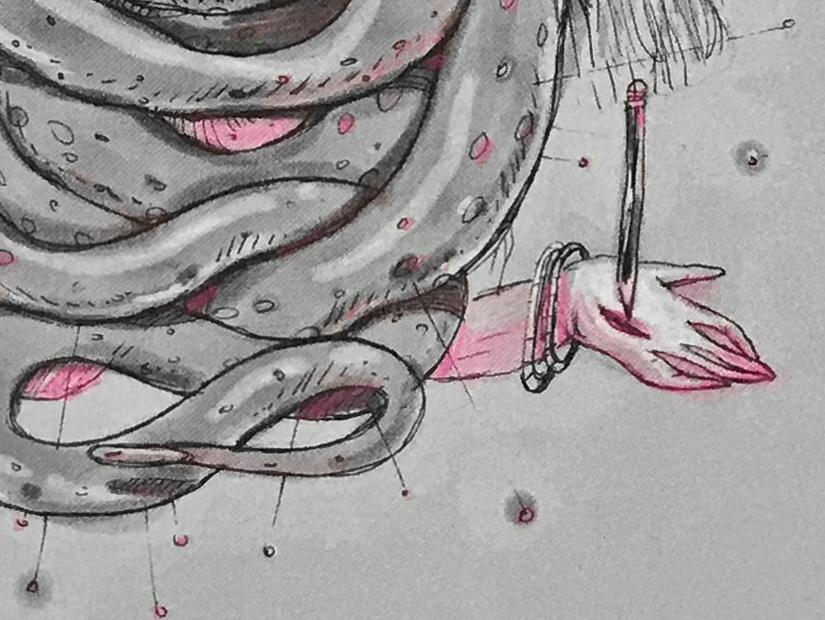 ana langeheldt elefante volar riso print sevilla triana la china lachina