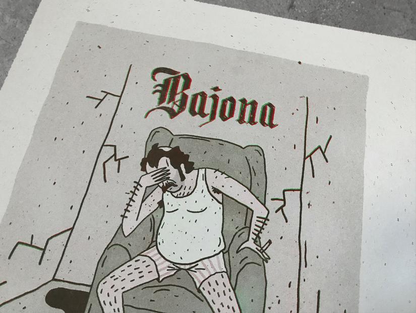 najona jess garcia riso print poster granada cordoba ilustrador