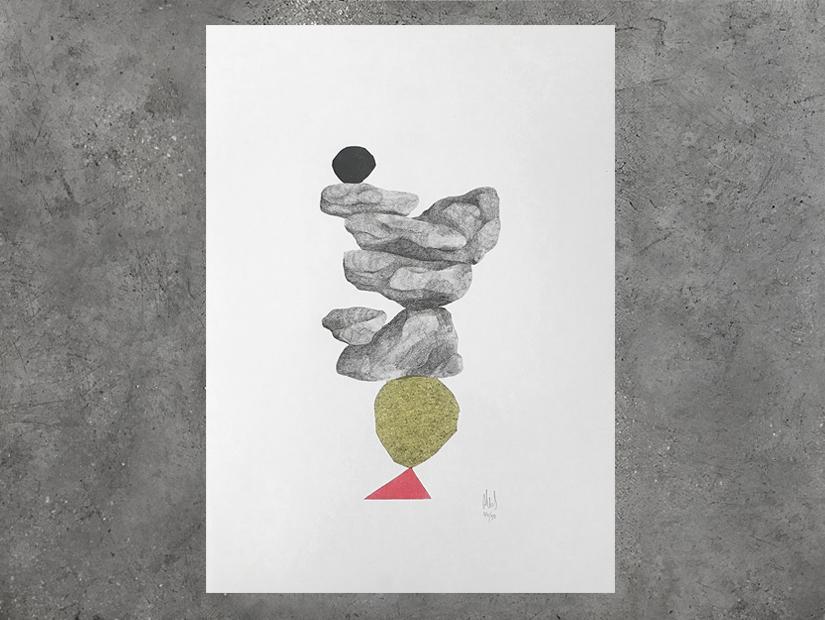 neus piedras riso print
