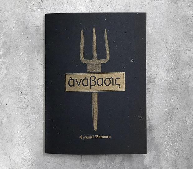 Cubierta de la publicación Anabasis de Ezequiel Barranco