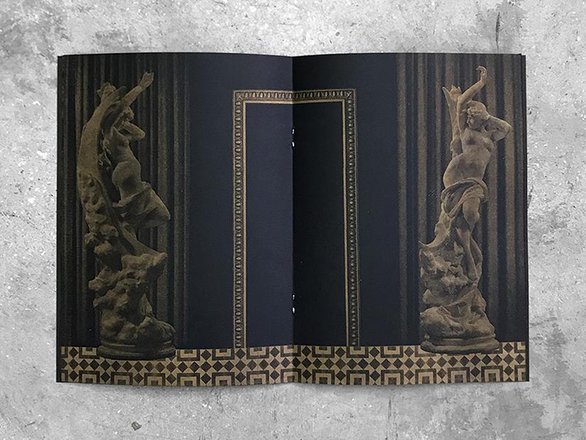 Interior de la publicación Anabasis de Ezequiel Barranco