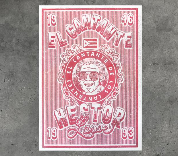 hector laveo, paco tuercas, riso, print, el cantnte de los cantantes