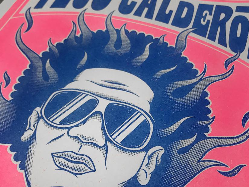 paco tuercas tego calderon metele sazon el abayarde el enemy de los guasibiri riso print risoprint poster obra grafica